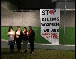 Stop Killing Women – Speech for vigil