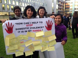 Stop Killing Women – Speech for vigil