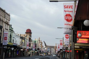 Slippery politics around King street clearways