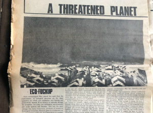 Filtering disinformation: climate change journalism since the late 1960s